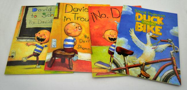 《团购:大卫·香农英文原版绘本4册》