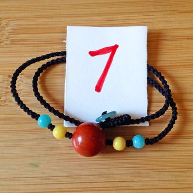 本站设计师款;满肉,锦红,玫瑰紫,柿子红南红玛瑙圆珠锁骨链7