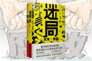 团购:大木长篇小说3册《迷局》《实权》《提拔》