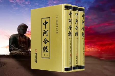 中阿含经-(全套三册)