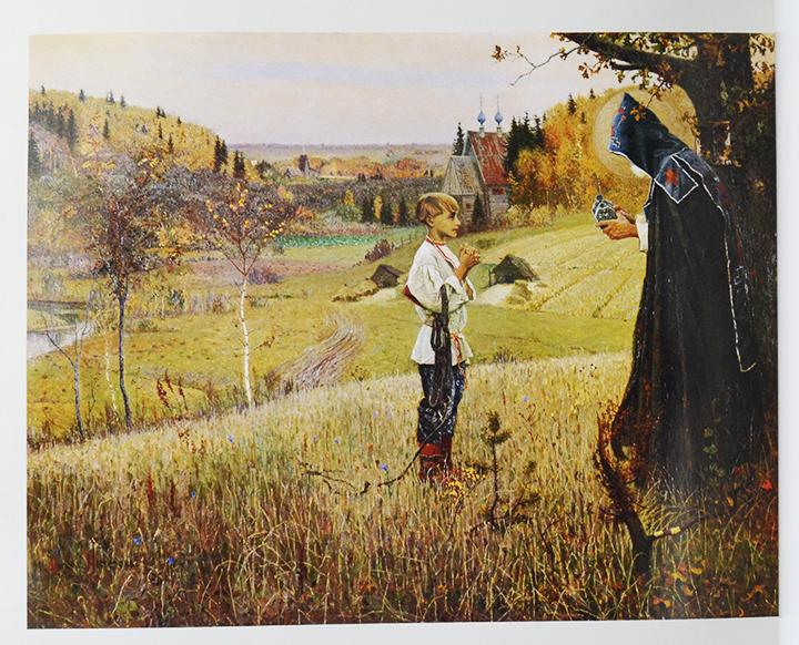 涅斯捷罗夫一生创作了众多的肖像画,风景画,风俗画,历史画和宗教画