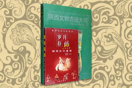 团购:陕西历史文化与文物古迹2册