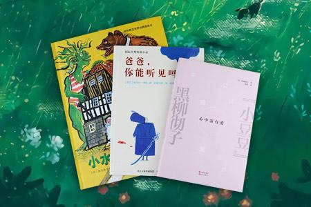 亲子阅读经典3种:德国儿童文学大师普鲁士勒的民间故事图画书《小水怪与大狗熊》,荷兰插画旗帜奖得主、字字入心的感人之作《爸爸,你能听见吗?》,《窗边的小豆豆》作者黑柳彻子一生的经历和感悟《心中需有爱》,既有非常适合亲子共读的经典图画书,也有能带给家长感悟与启发的精彩之作。定价81.6元,现团购价26元,全国包快递!