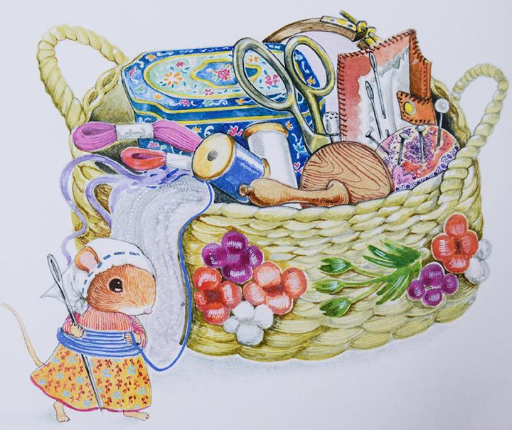《鼠小弟乔治的大篷车》 妈妈的生日快到了,鼠小弟乔治和姐姐们会