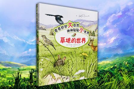 每周三超低价!意大利引进,引领3-6岁孩子亲近大自然的手绘科普书――《奇奇妙妙大自然・神神秘秘小世界》全三册,12开铜版纸全彩,清新唯美的画风,生动简洁的文字,带小读者一起去了解一棵树、一条河流和草地的诞生,并介绍了它们周围的菌类、草、花、昆虫、鱼类、两栖动物、鸟类、哺乳动物等159种动植物的特征、习性、繁殖等知识,书后附3张长达1米4的拉页大图,将大树、河流和草地的动植物全景呈现在小读者面前,3