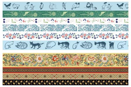 """精美文创来啦!中图网出品·和纸胶带,两套任选:【纹饰系列】4种,包含『中国纹饰·花开富贵』『中国纹饰』『希腊纹饰』『中世纪纹饰』;有""""大正浪漫的代名词""""美誉的日本画家、诗人【竹久梦二系列】6种,包括『草莓图案』『花』『梅』『猫』『禽鸟』『蒲公英』。定价110-160元,团购价29.9-45元包邮!"""