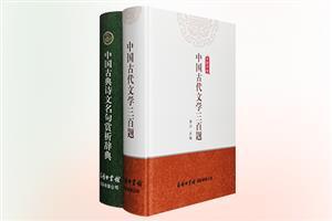 团购:(精)中国古代文学三百题+(精)中国古典诗文名句赏析辞典