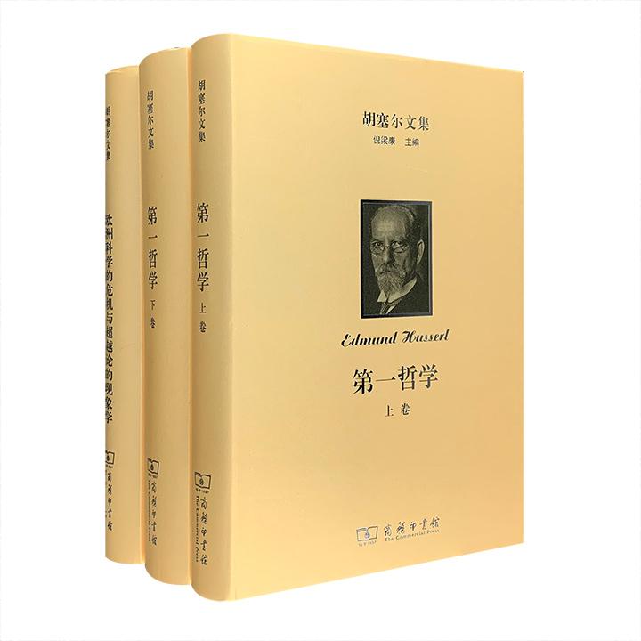团购:(精)胡塞尔文集:第一哲学+欧洲科学的危机与超越论的现象学