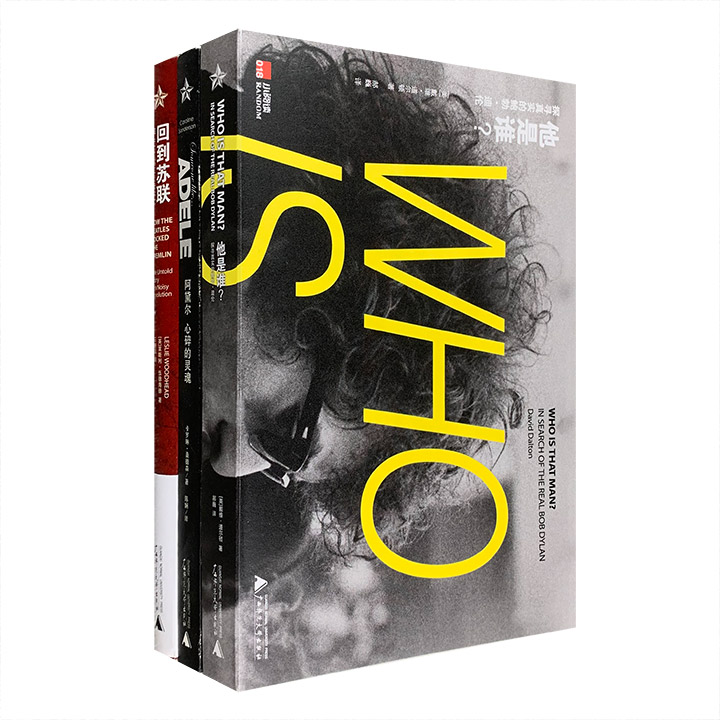 团购:欧美著名歌手与乐队传记3册