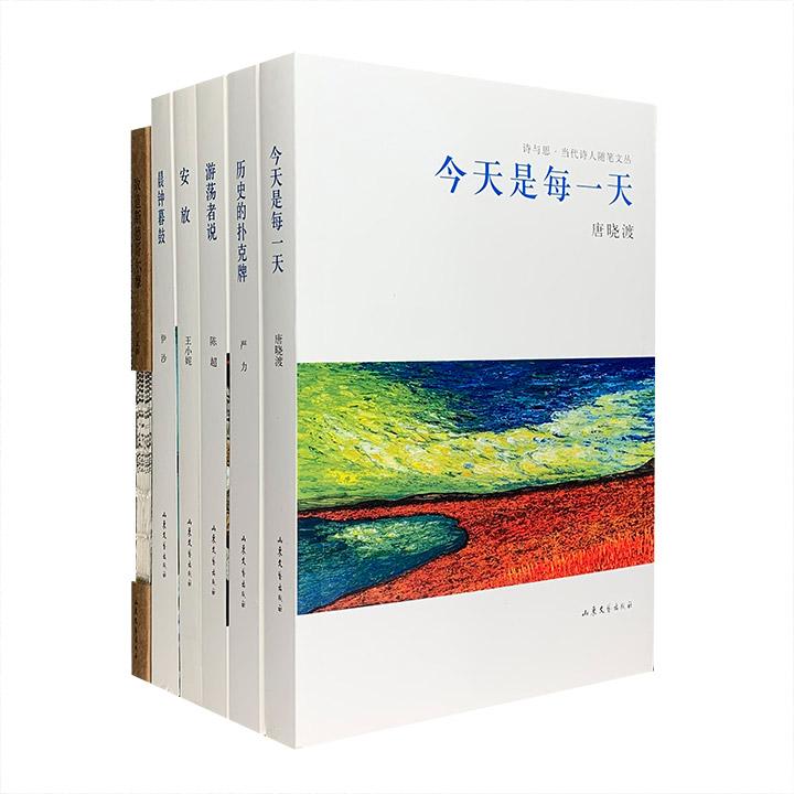 团购:诗与思当代诗人随笔文丛全6册
