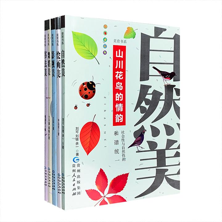 团购:美育书系5册