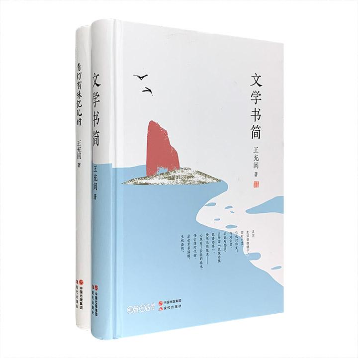 团购:王充闾文集2册