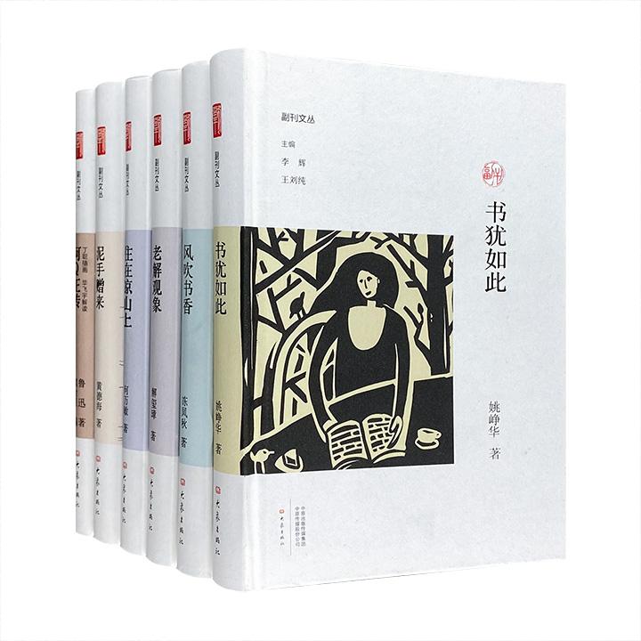团购:(精)副刊文丛·个人作品精选(二)6种