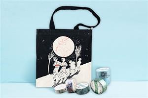 竹久梦二系列·帆布包+胶带