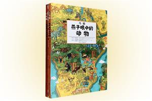(精装绘本)鸟瞰:鸟类眼中的城市和动物(套装2册)
