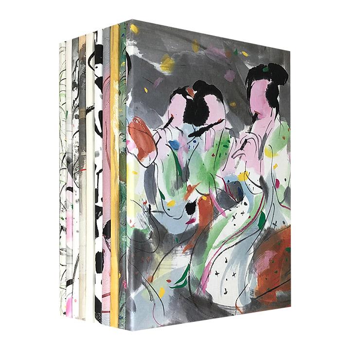 中西融汇的艺术盛宴!《吴冠中艺术明信片》盒装全10种,精选吴冠中10个主题的80张精美画作,题材丰富、全彩精印,珍藏、赠送、临摹俱佳。