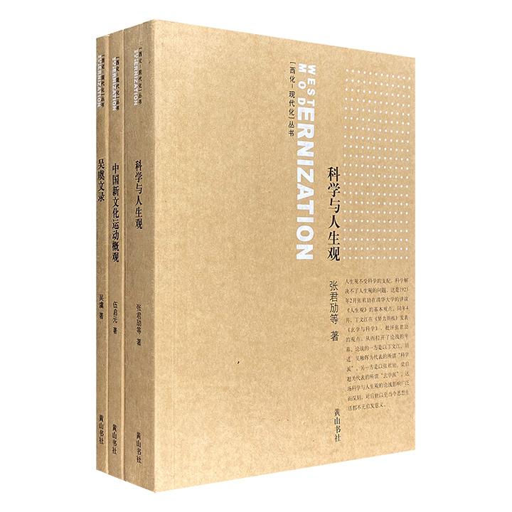 团购:西化·现代化丛书3册:科学与人生观等