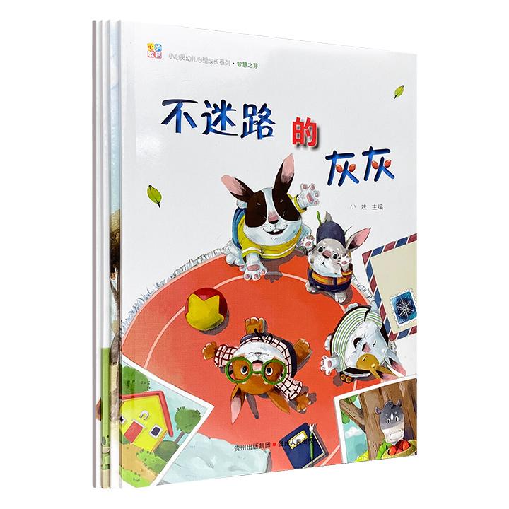 小心灵幼儿心理成长系列:第一辑 智慧之芽(全4册)